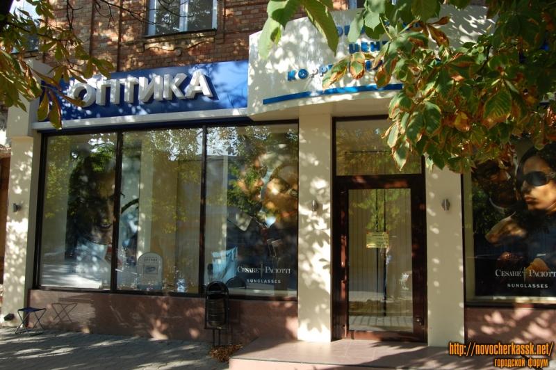 Московская, Оптика