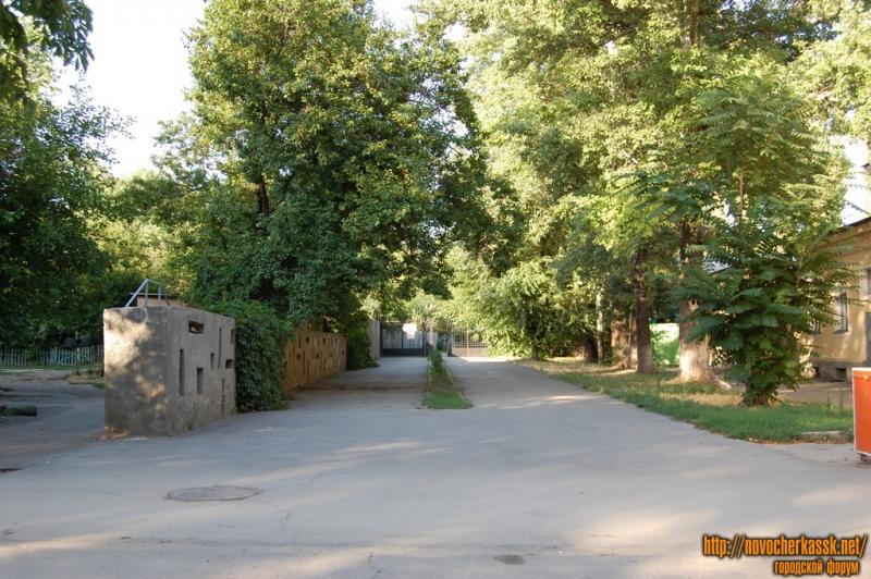 Вход в детский парк, ул. Московская