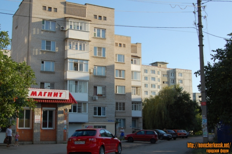 пр. баклановский, вид на ул. Хлебзаводскую
