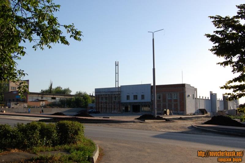 """переулок Магнитный, строительство магазина """"Окей"""""""