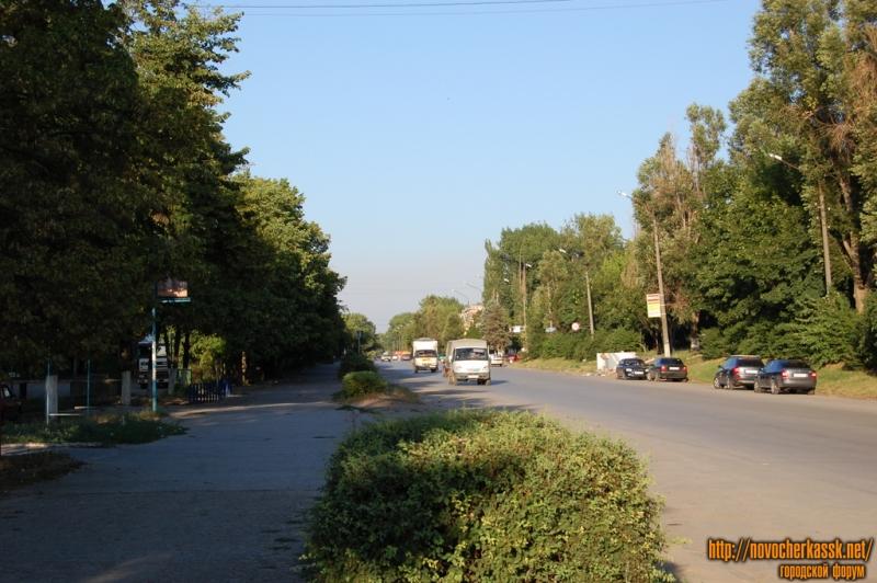 Вид вдоль ул. Буденновской в сторону центра