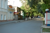 Вид на ул. Комитетскую в сторону ул. Атаманской от перекрестка Московской улицы