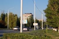 Проспект Баклановский, вид на перекресток с Магнитным переулком