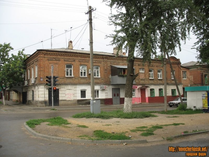 Угол Пушкинской и Комитетской