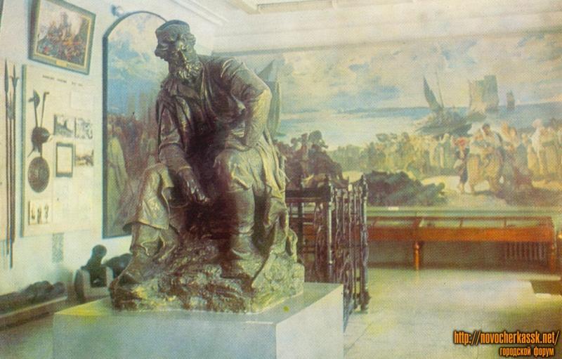 Эскпозиция Музея истории донского казачества