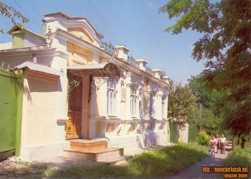 Дом, в котором проживал Ленгник, улица Ленгника