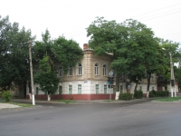 Угол  Пушкинской и Комитетской, вечерняя школа