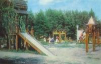 Детская площадка в Детском парке (на улице Московской)