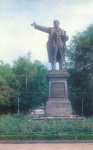 Памятник Ленину, пересечение Московской и Платовского проспекта