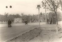 Угол Московской и Платовского, памятник Ленину