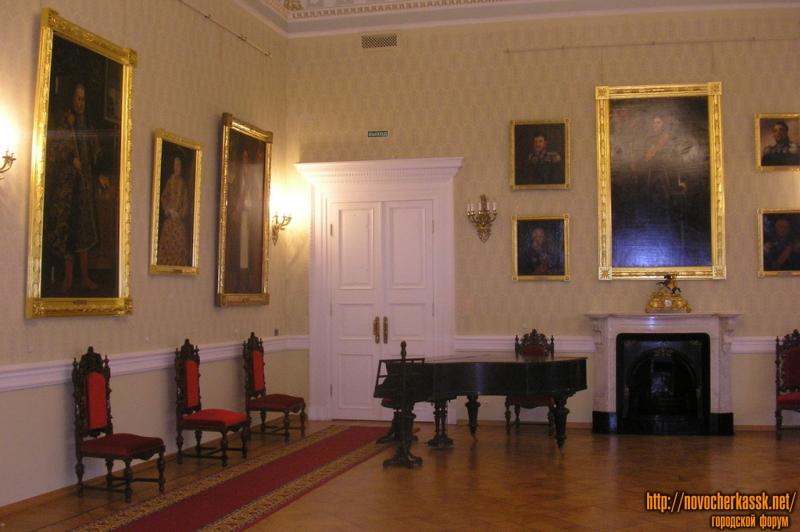 Интерьер Атаманского дворца