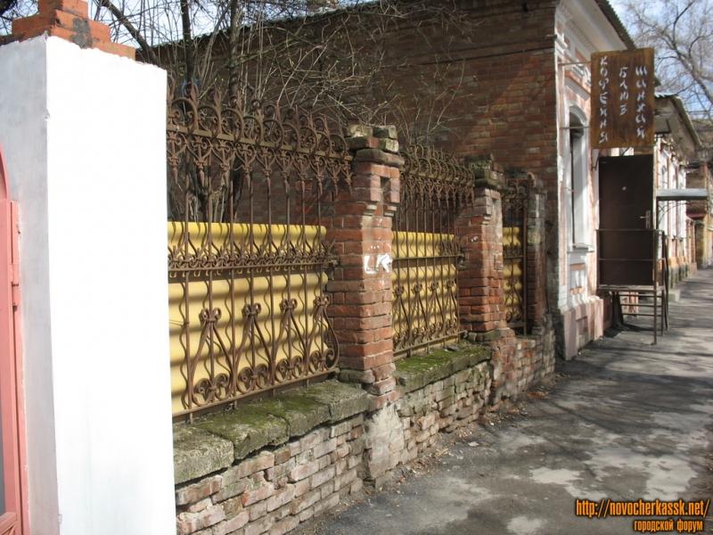 Просвещения. Кованный забор
