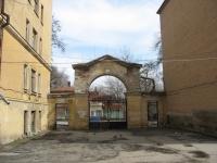 Богдана Хмельницкого/Просвещения, вид из двора Студенческой поликлиники