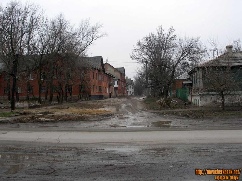 Перекресток Школьной и Фрунзе. Вид от Пивзавода