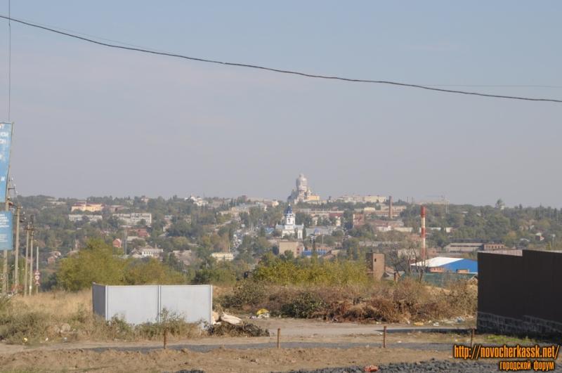 Вид на город со стороны Старой Ростовской дороги