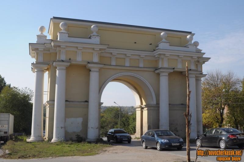 Западная триумфальная Арка, Платовский