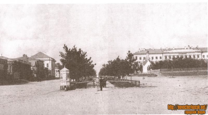 Проспект Платовский в сторону Собора