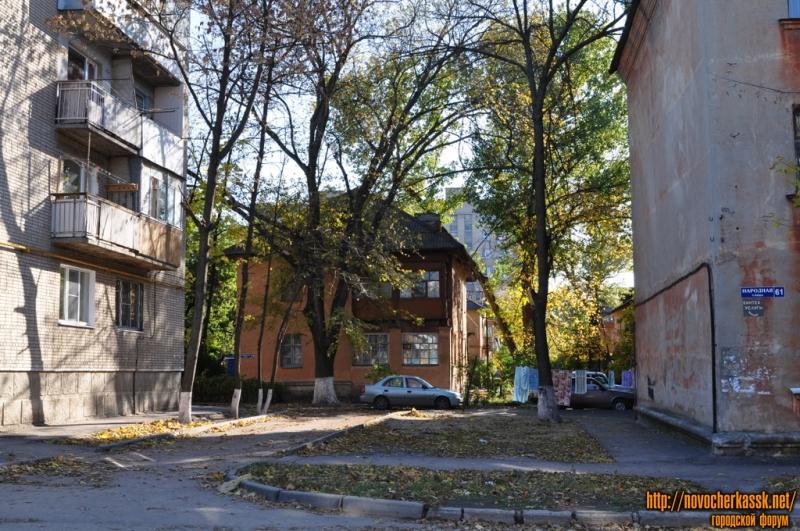 Гайдара, 10 (вид с ул. Народной)
