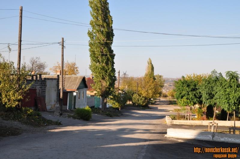 Криничный переулок. Вид с ул. Буденновской