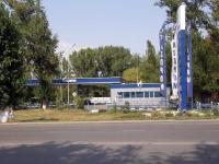 Баклановский, заправка Газпром, на выезде из автовокзала