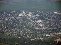 Центр Новочеркасска с самолета