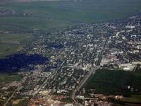 Баклановский и Буденновская с самолета