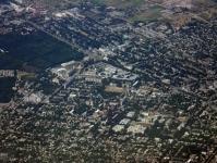 Город с самолета