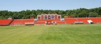 Стадион Ермак. Трибуны