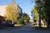 Переулок Западный. Вид с ул. Буденновской