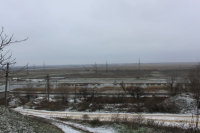 Вид на реку Аксай со спуска Длинного