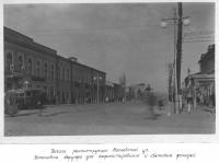 Московская (вид с Платовского проспекта)