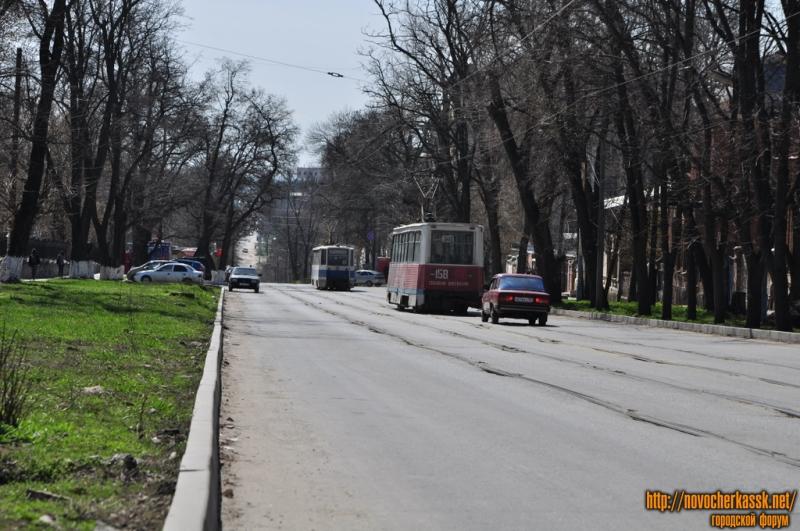ул. Богдана Хмельницкого. Вид от Горного