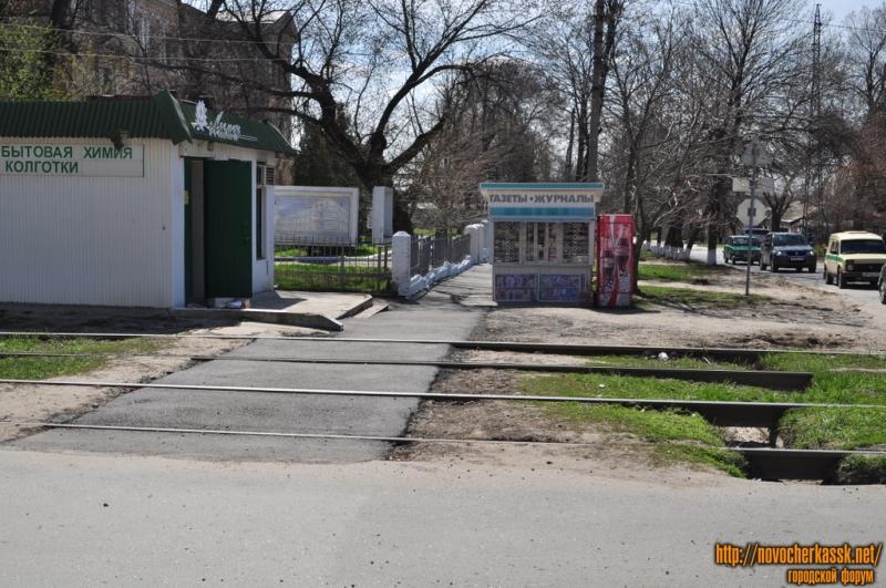 Новые тротуары на Михайловской (пересечение с Троицкой)
