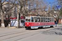 Трамвай на Богдана Хмельницкого, напротив Горного
