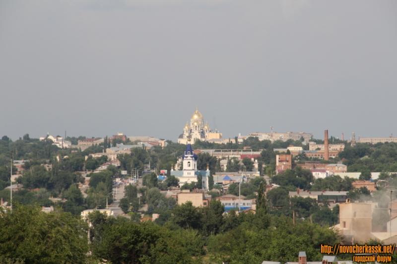 Собор в Новочеркасске. Вид со стороны старой Ростовской дороги