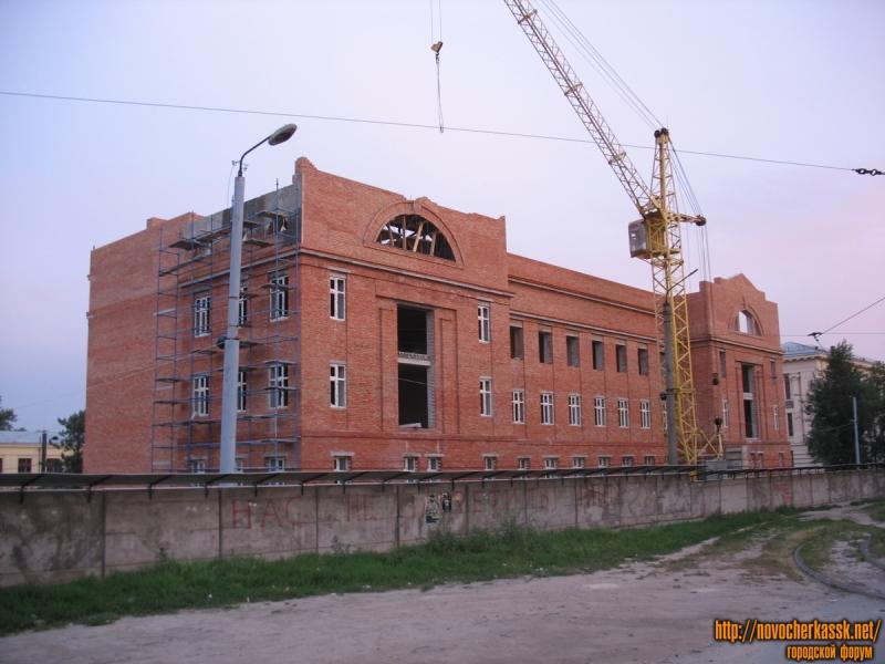 Строительство учебного корпуса ЮРГТУ (НПИ)
