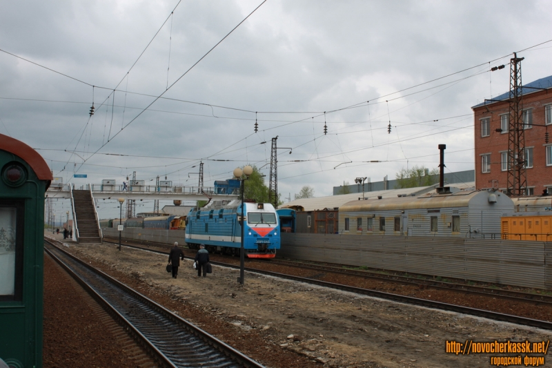 Ремонт платформы железнодорожного вокзала