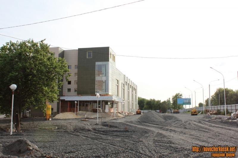 Строительство ТЦ на Баклановском в районе Сармата