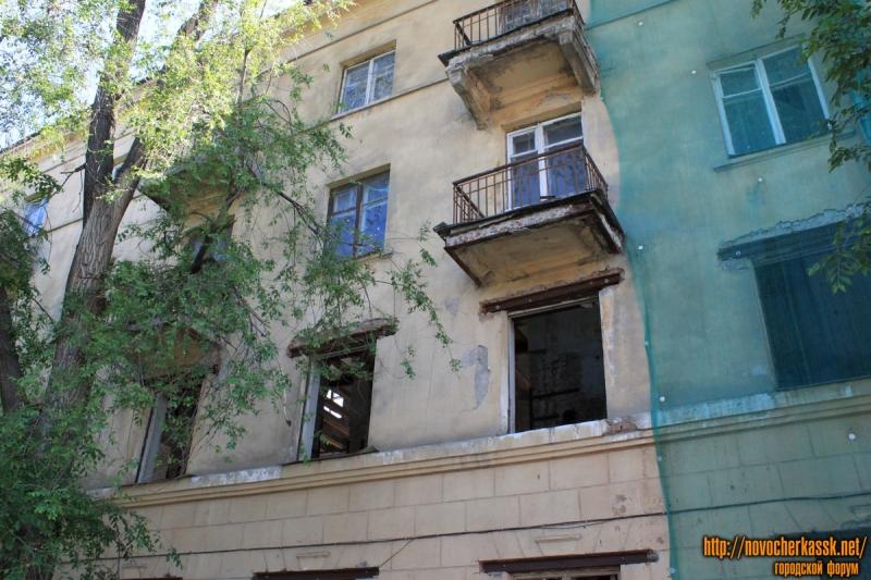 Угол Островского и Баклановского. Бывшее общежитие.