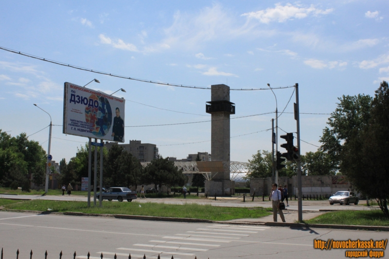 Проспект Баклановский. Стадион Ермак