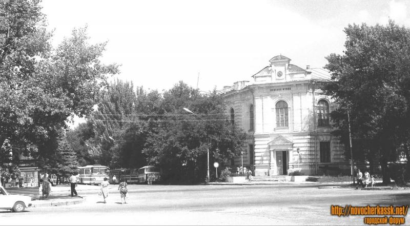 Пересечение Атаманской и Платовского. 12 июля 1987 г.