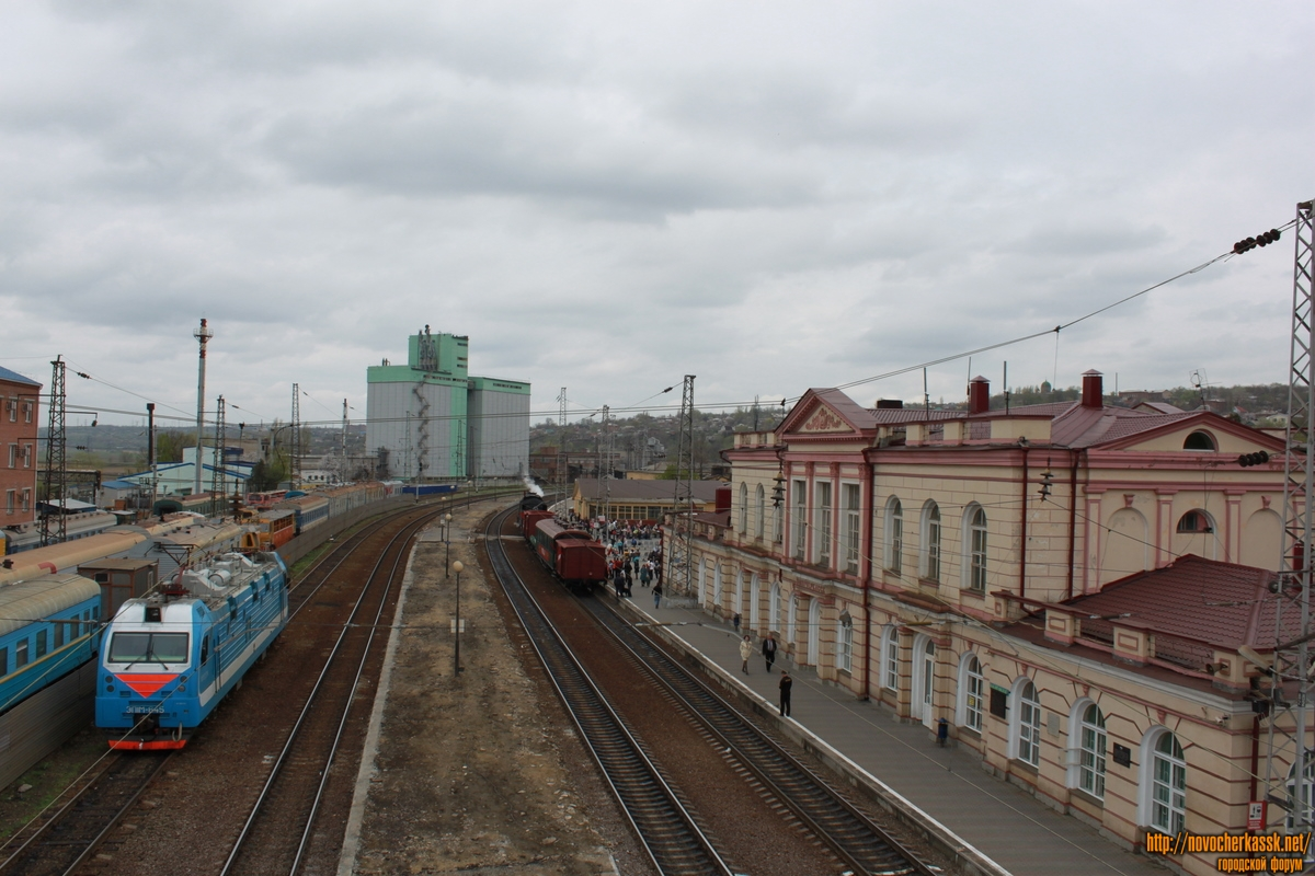 поезд Кисловодск–Москва.