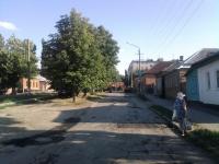 Укладка асфальта на улице Крылова