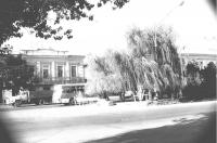 Пр. Платовский. Вид от универмага. 9 октября 1990 г.