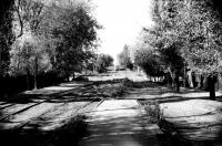 Ул. Щорса (пересечение с Ленгника). 11 октября 1990 г.