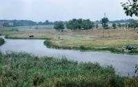 Река Тузлов. Вид со сп. Герцена. 25 августа 2004 г.