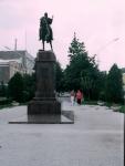 Памятник Платову. Пр. Платовский. 25 августа 2004 г.