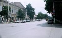 Вид на ул. Московскую с ул. Комитетской. 25 августа 2004 г.