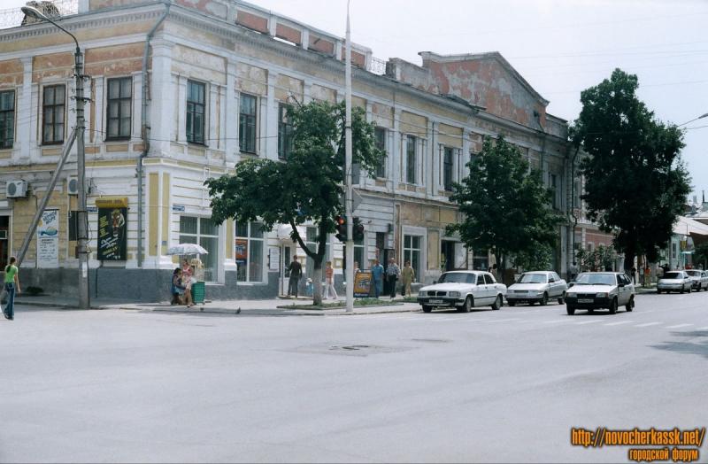Московская / Комитетская. Бывший кинотеатр Победа. 25 августа 2004 года