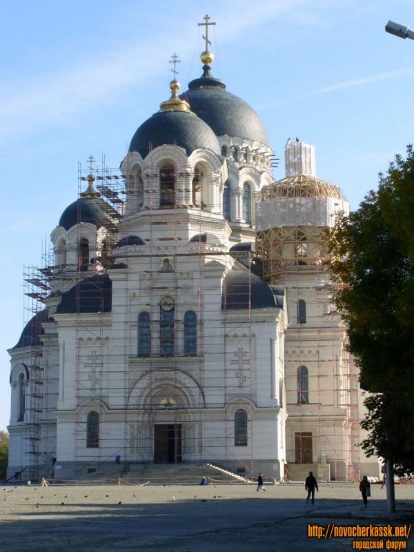 Реконструкция собора. Сентябрь 2009